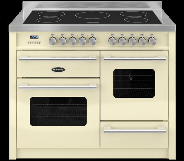 Britannia Delphi 110cm XG Range Cooker Induction in Cream