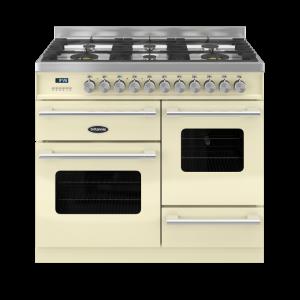 Britannia Delphi 100cm XG Range Cooker Dual Fuel in Cream