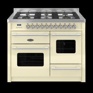 Britannia Delphi 110cm XG Range Cooker Dual Fuel in Cream
