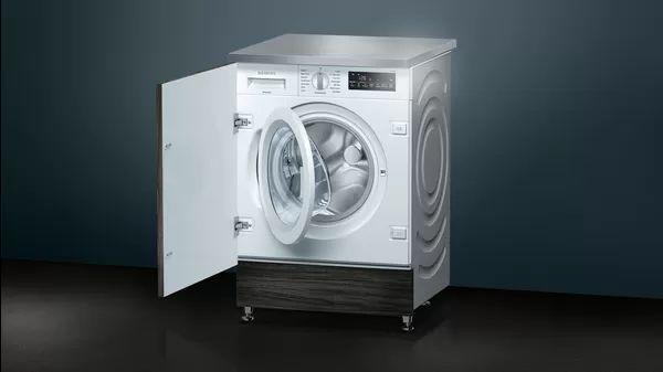 Siemens WI14W500GB Built-in 8kg washing machine full angled view