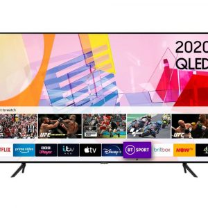 Samsung QE55Q60TAUXXU 55″ QLED Smart TV – A+ Energy Rated