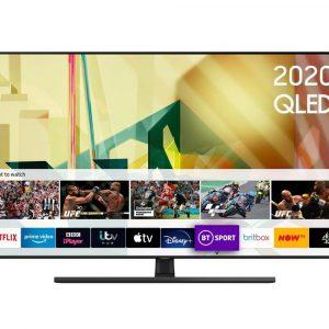 Samsung QE65Q70TATXXU 65″ QLED Smart TV – A+ Energy Rated