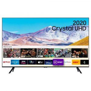 Samsung UE65TU8000KXXU 65″ 4K UHD Smart TV – A+ Energy Rated