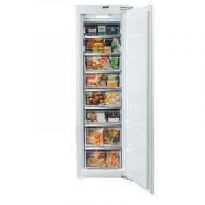 Rangemaster RTFZ18/INT Integrated Tall Freezer White with Chrome trim