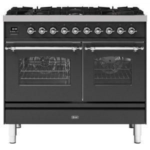Ilve PD106NE3MG 100cm Milano Dual Fuel Range Cooker In Matt Graphite