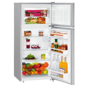 Liebherr CTel 2131 Fridge-freezer with freezer above and SmartFrost
