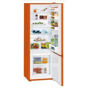 Liebherr CUno 2831 55cm Orange Fridge-freezer with SmartFrost